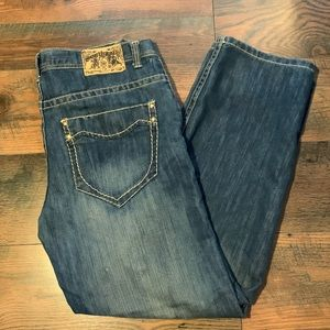 South Pole Men's Size 40 With 36 Inch Inseam Jeans